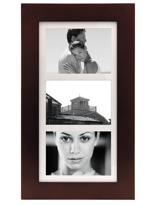 Malden Manhattan Dark Walnut Wall Frame | 5x7 Collage frames