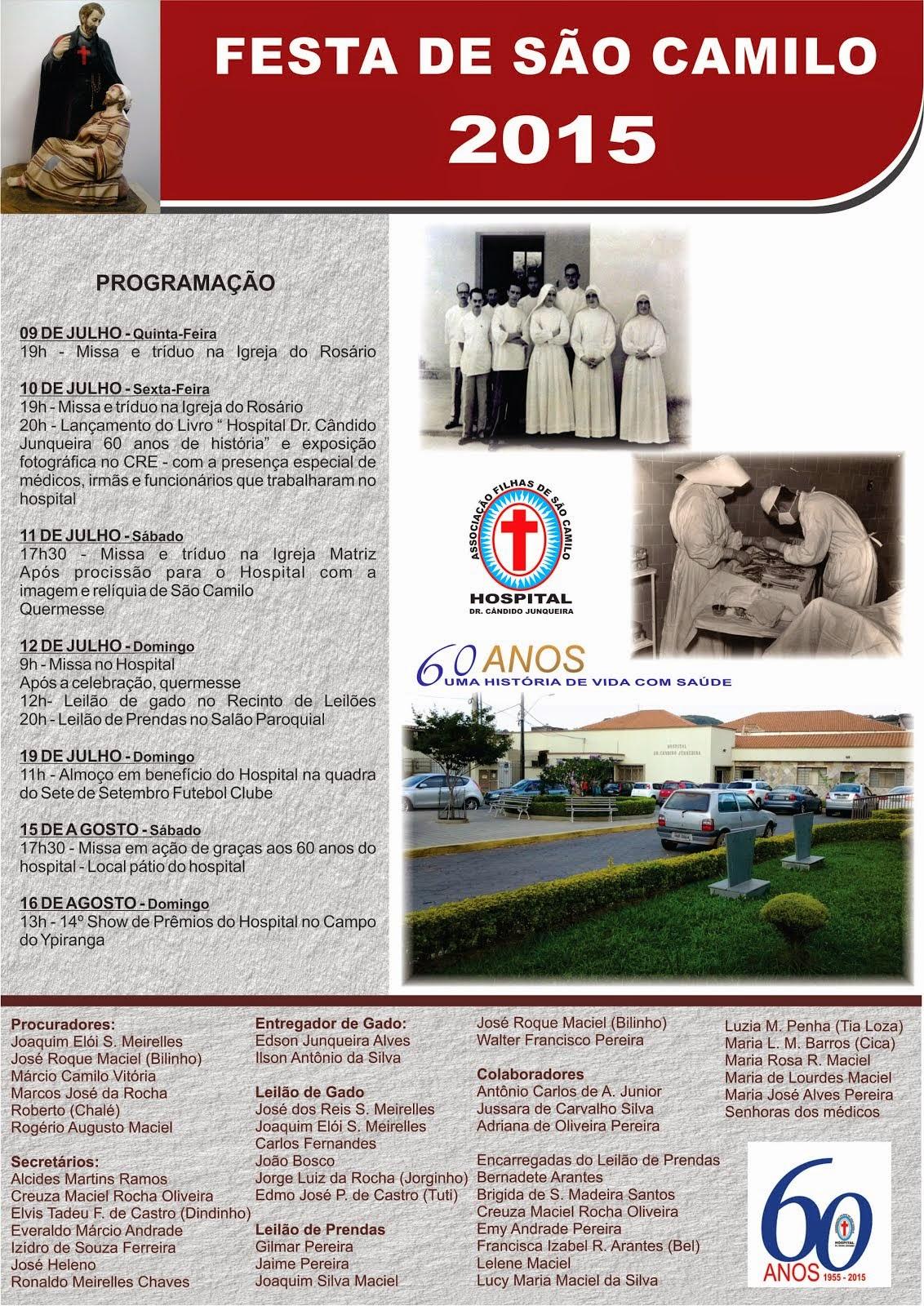 Festa di San Camillo - Ospedale di Cruzilia