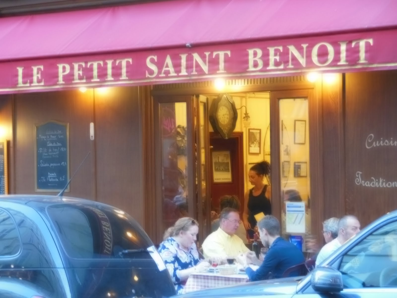 the foreman update le petit st benoit restaurant. Black Bedroom Furniture Sets. Home Design Ideas