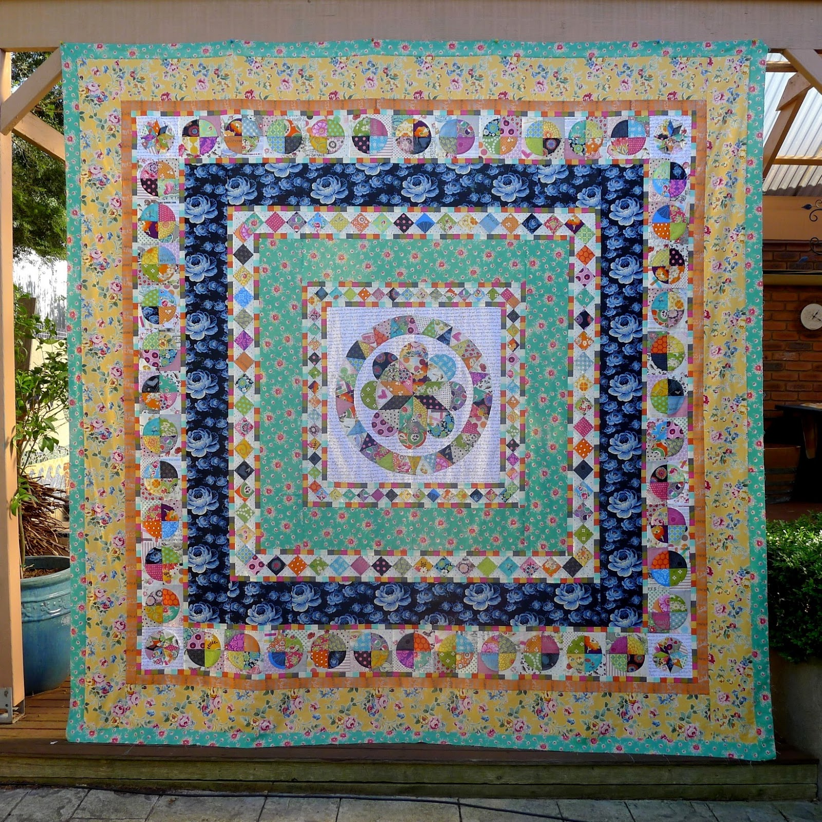 wonderful medallion kind sew metro of quilt finished