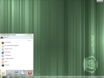 openSUSE M5