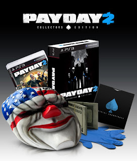 payday 2 collectors edition ps3 Payday 2 (360/PC/PS3)   Collectors Edition & Overview Video