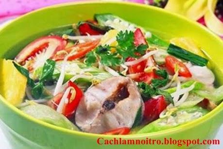 Cách nấu canh chua cá lóc ngon nhất