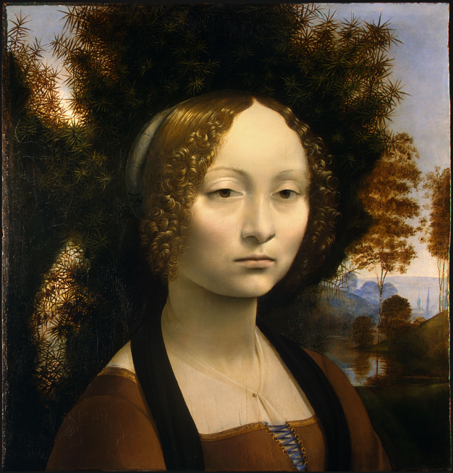 Ginebra de Benci - Leonardo da Vinci