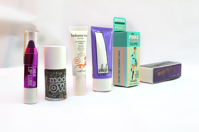 Birchbox July 2014 review