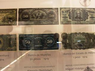 Cada estado emitía sus propios billetes, lo que los hacía válidos sólo en la localidad.