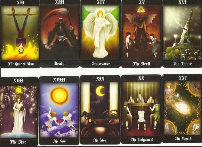 Priskha's Tarot Notes: Review of Hermes Fortune Tarot Deck