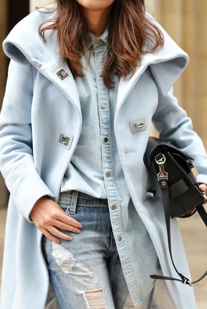 Fashion Attacks inspiration pastel coats