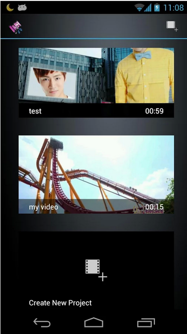 Movie Studio-Android Video Editing app