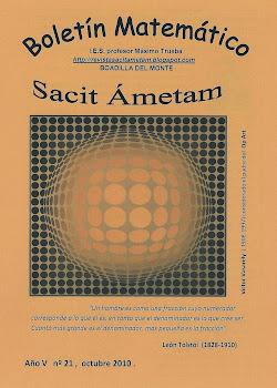 Boletín Sacit Ámetam nº 21