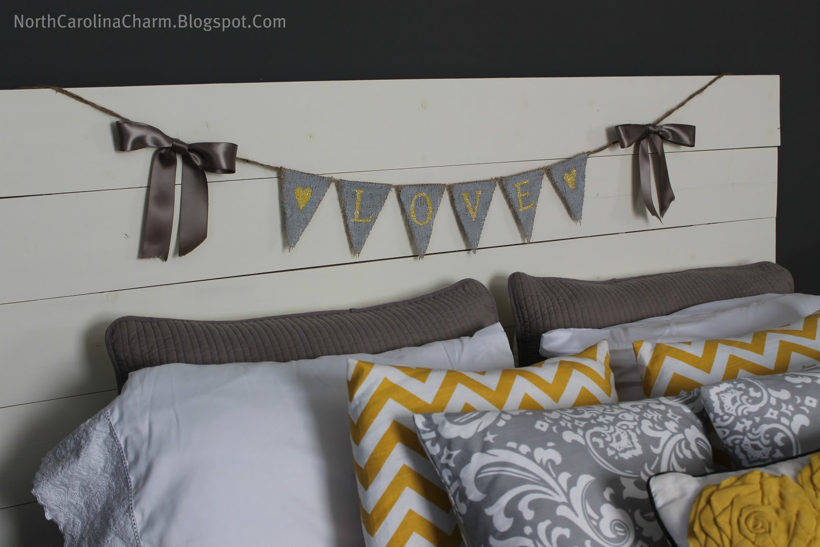 Carolina Charm: DIY Headboard