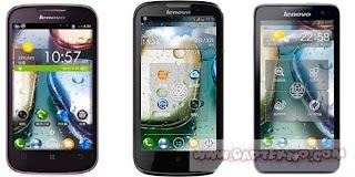 Rombongan LENOVO IdeaPhone S890, S720, A690 & A800 di Indonesia