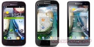 LENOVO IdeaPhone S890, S720, A690 & A800