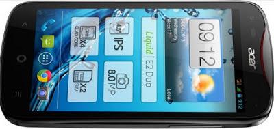 Acer Liquid E2, Hp Android QuadCore Pertama dari ACER cuma 2 jutaan