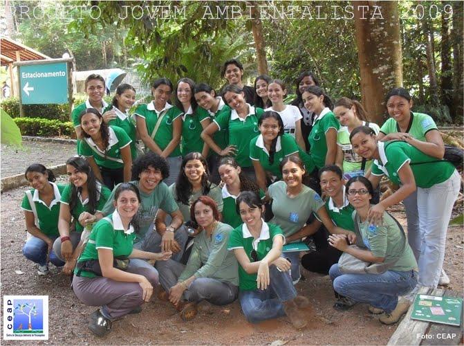 Projeto Jovem Ambientalista turma de 2009 - 4ª turma