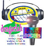 DENGARLAH RADIO SKSB,WAKTU SIARAN:SETIAP HARI PERSEKOLAHAN:7.00-7.30 PAGI DAN  WAKTU REHAT