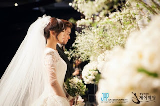 wonder girls sunye wedding ceremony pictures 3