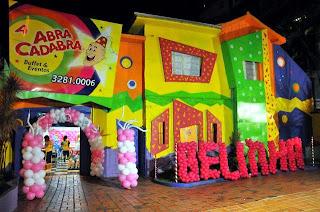 Buffet Abracadabra Buffet Infantil BH