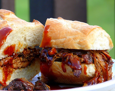 Noble Pig: Slow-Cooker Honey-Soy Pulled Pork
