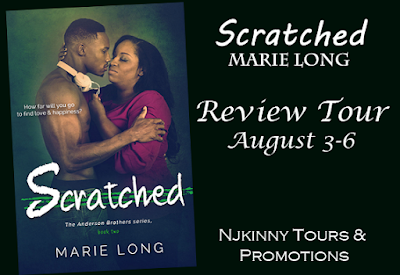 Review Tour Schedule: Scratched by Marie Long (3-6 August)