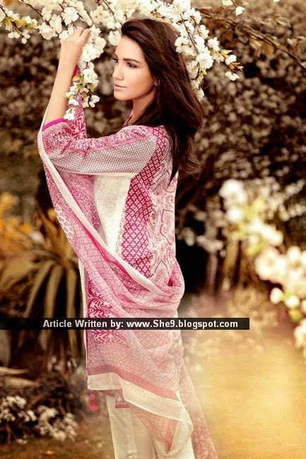 Ethnic by Outfitters Lawn 2015