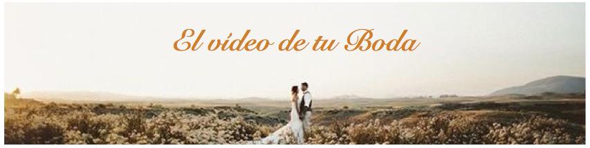 VIDEO BODAS MADRID: originales y barato. Alta calidad y contenido