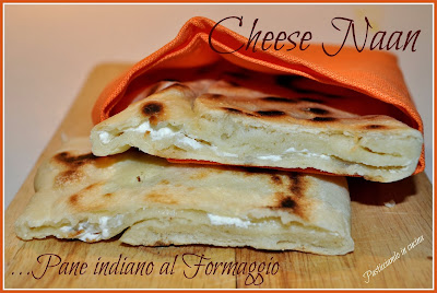 cheese naan - pane indiano al formaggio