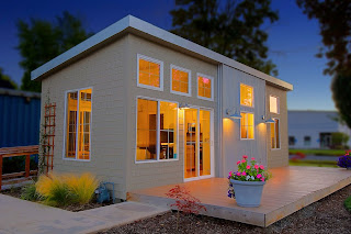 Modern Small Living Homes Designs Exterior Views
