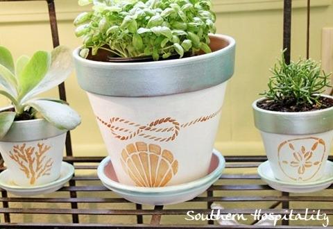 paint terracotta pots