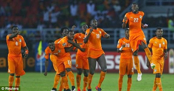 Ivory Coast Wins AFCON 2015