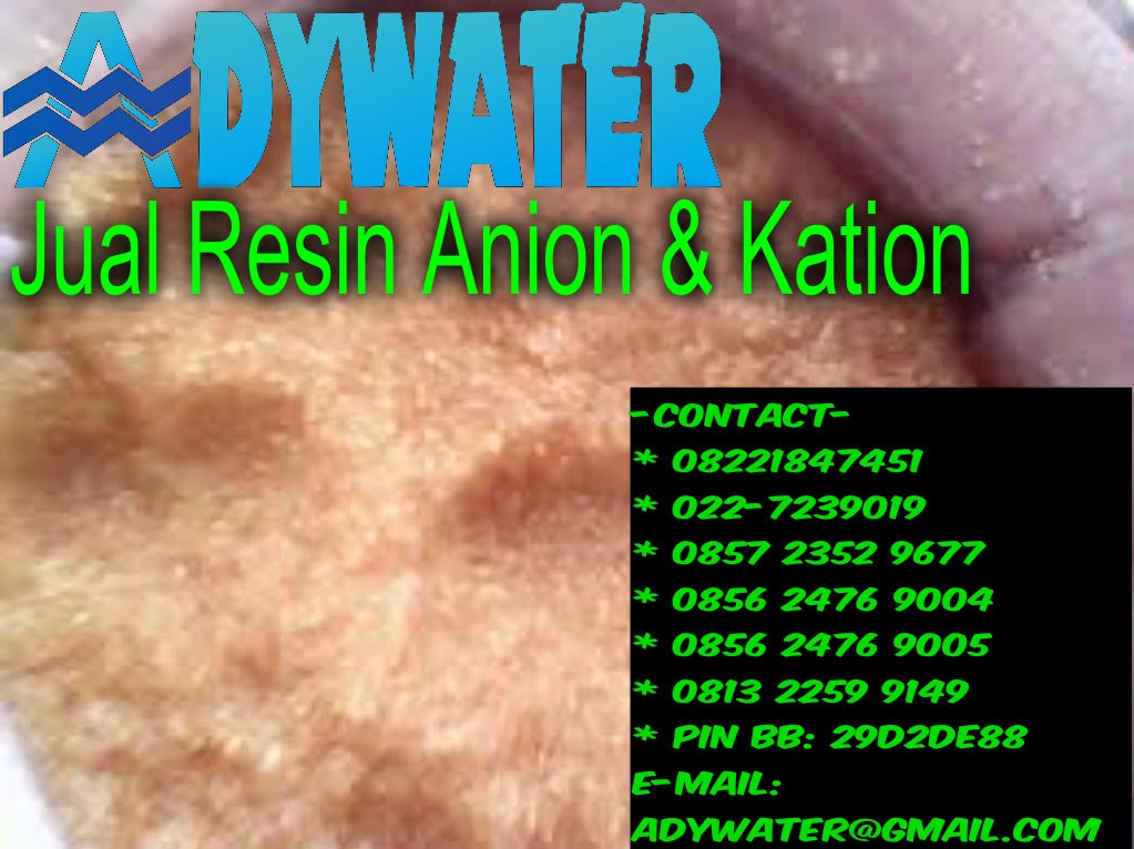 Manfaat Resin Anion Kation | Ady Water