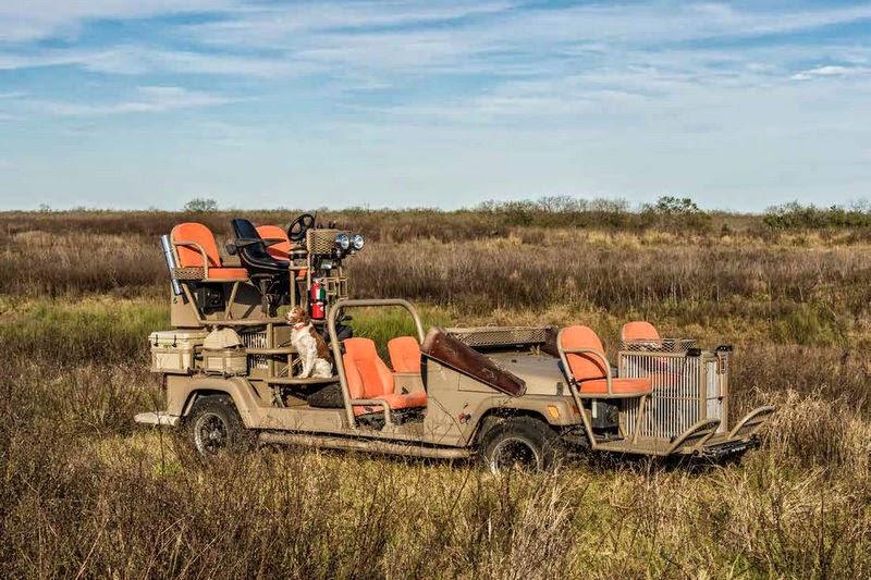 Jeep Texas quail rig
