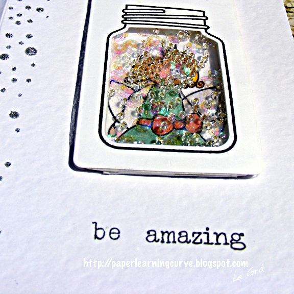 Grá O'Neill - Paper Learning Curve - Waltzingmouse Stamps Heroines- Fairy Princess, Half Pint Heroines, Paper Smooches Crystal Clear Stamps & Dies, Waltzingmouse Stamps Gift Card It die set, Simon Says Stamp Falling Snow stencil