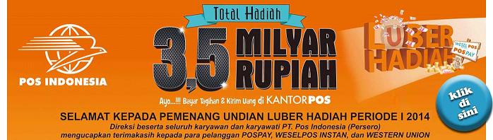 Download Pemenang Undian Luber Hadiah Periode I 2014