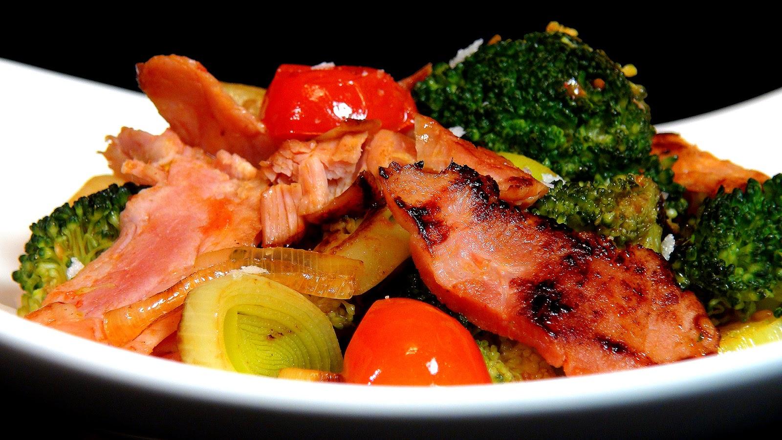 Cocinar para los amigos salteado de verduras y lac n for Cocinando para los amigos