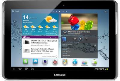 Samsung Galaxy Tab 2 (10.1) officially announced!