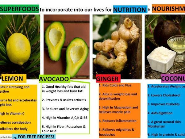 4 Super Foods