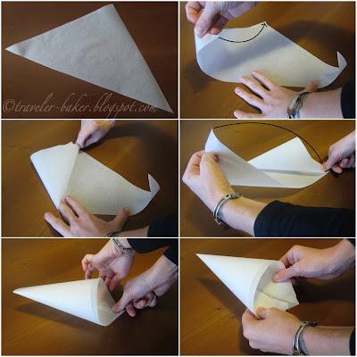 tutorial: come fare (e usare) un conetto di carta