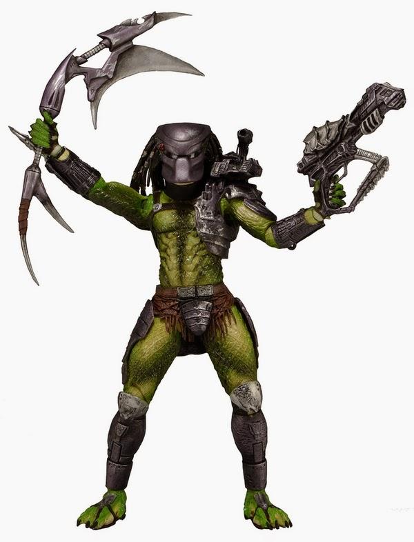 NECA - Predator Series 13 - Kenner Series - Renegade Predator figure