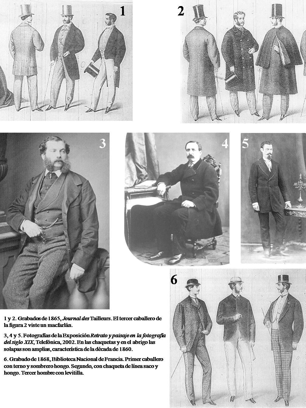 Siglo Capítulo 23 Traje Masculino Historia Xix El Traje Del En 1wHAqA