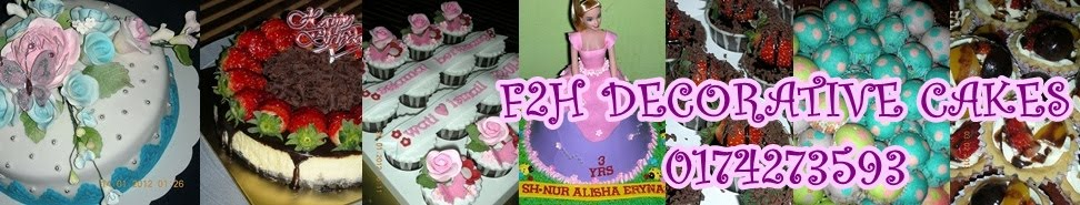 F2H DECORATIVE CAKES