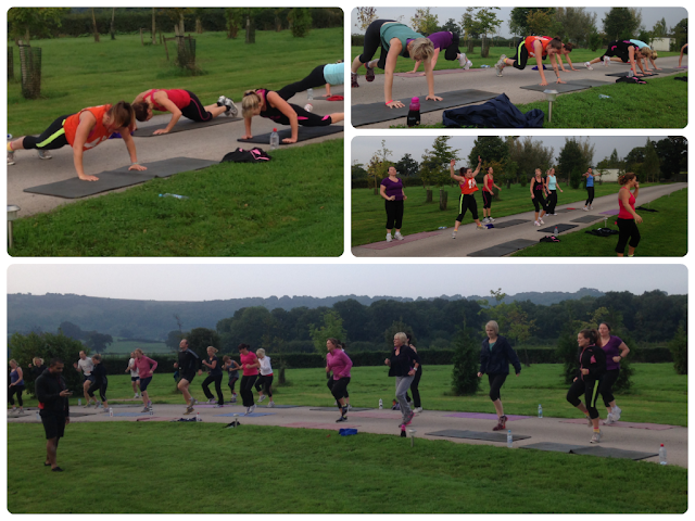 Insanity workout Hillmotts Dorset bootcamp