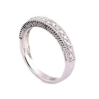 Halo Bridal Engagement Ring Set 2