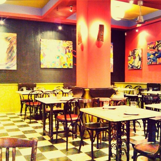 "Instagram @lelazivanovic. ""Paparouna"" restaurant, Thessaloniki"
