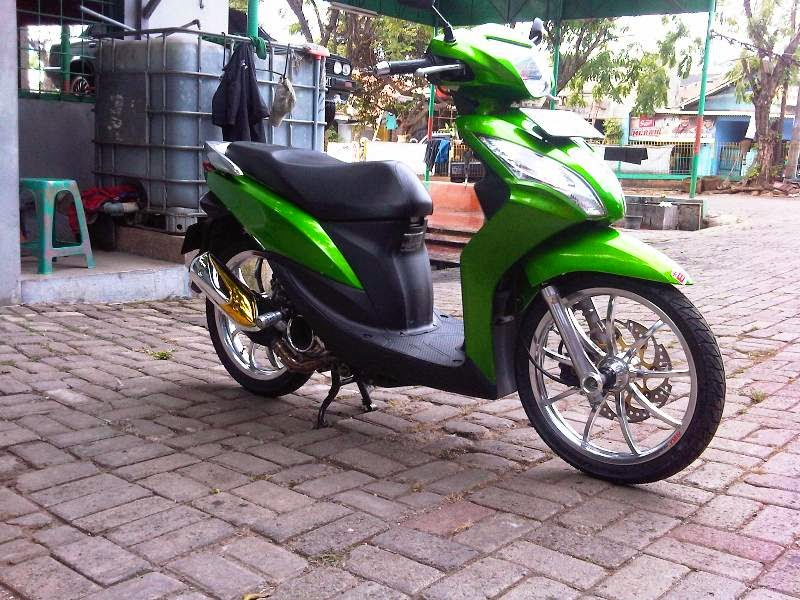 Honda Spacy Hijau