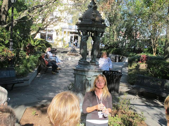 Latrobe Park, honoring Benjamin Henry Latrobe, designer of New Orleans water system