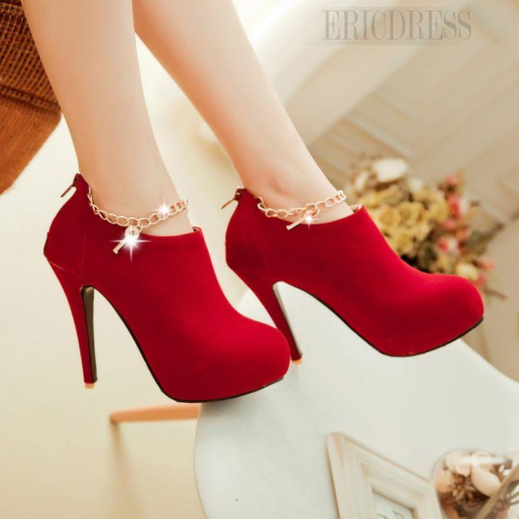 http://www.ericdress.com/product/Elegant-Suede-Stiletto-Heel-Ankle-Boots-With-Metal-Chain-Decoration-10869589.html