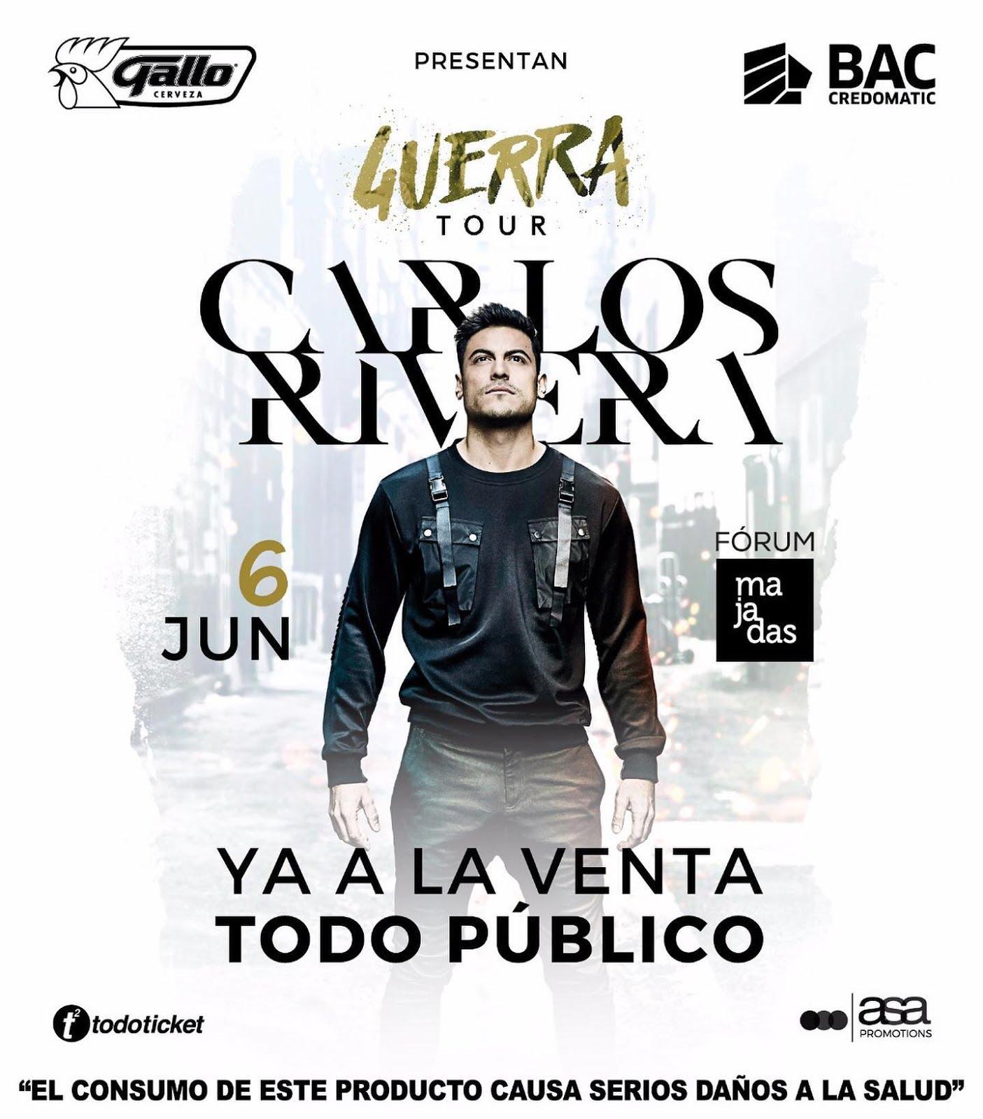 CARLOS RIVERA EN GUATEMALA!