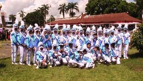 Gita Mandala Drum band Dalam HUT Pandeglang