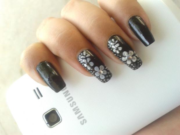beautiful nail art design - creative